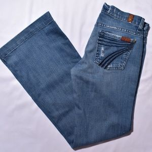 7 for all mankind DOJO jeans!